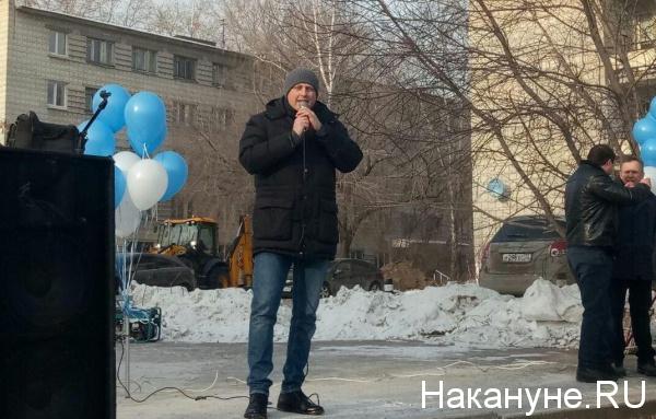 митинг против сноса телебашни, Александр Ивачев(2018)|Фото: Накануне.RU