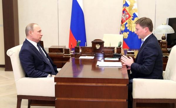 Владимир Путин Сергей Иванов Алроса(2018)|Фото: пресс-служба президента России