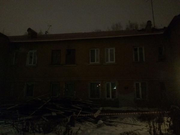 Суворовский, обрушение, крыша, барак, Екатеринбург(2018)|Фото:прокуратура Свердловской области