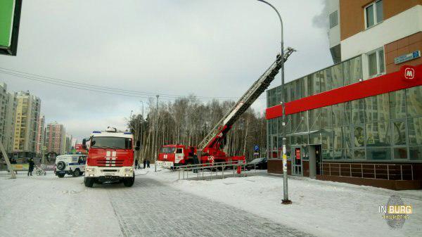 Краснолесье,76 пожар в Екатеринбурге(2018)|Фото: vk.com/incekb/Данил Беляев