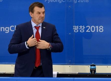 Олег Знарок Олимпиада(2018)|Фото: fhr.ru