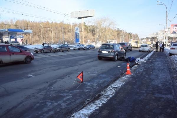 ДТП на ул Высоцкого(2018)|Фото: отделение пропаганды ГИБДД Екатеринбурга