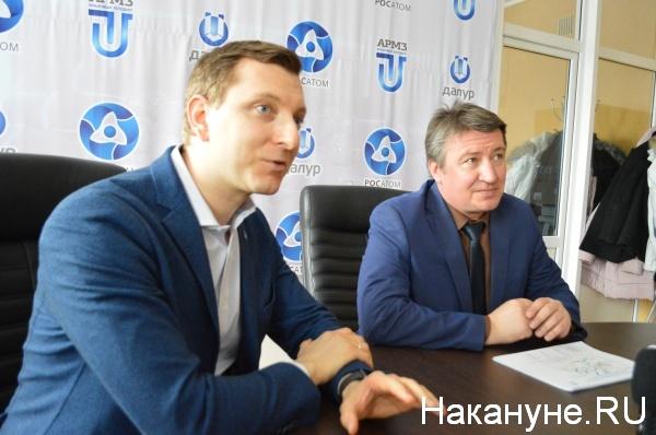 Иван Крупянко, Денис Ежуров(2018) Фото:Накануне.RU