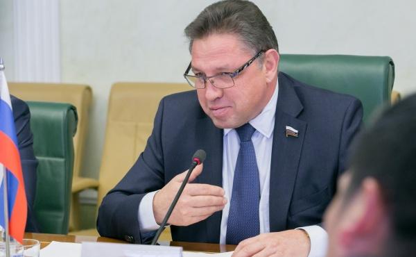 Вячеслав Тимченко, Заместитель председателя Комитета Совета Федерации по экономической политике(2018)|Фото: council.gov.ru