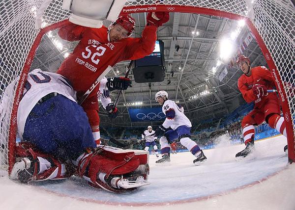 Россия - Норвегия, хоккей, ОИ-2018(2018)|Фото: REUTERS/Ronald Martinez