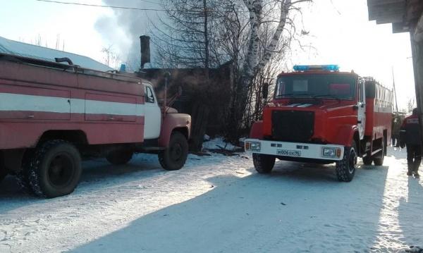 Пожар в Туринском районе, пожарная машина(2018)|Фото: МЧС Свердловской области