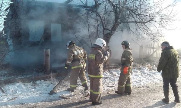 пожар в Туринском районе(2018)|Фото: МЧС Свердловской области