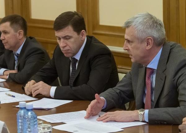 Евгений Куйвашев, Сергей Носов, концессионное соглашения(2018)|Фото: ДИП