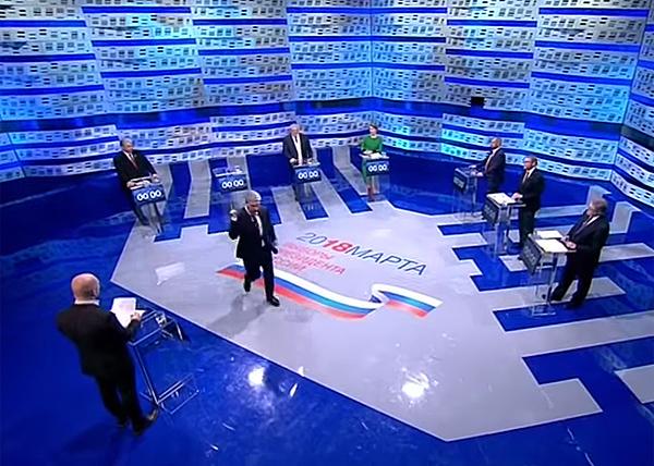Павел Грудинин, Первый канал, дебаты, уход(2018)|Фото: 1tv.ru