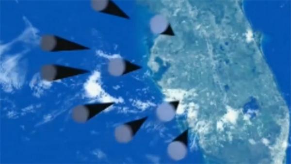 ежегодное послание Президента РФ Владимира Путина Федеральному Собранию, видеопрезентация, ракета(2018)|Фото: Россия 1