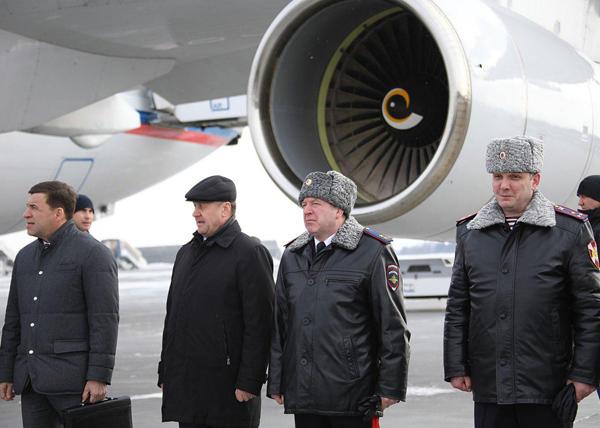 Куйвашев встречает Путина(2018)|Фото: ДИП