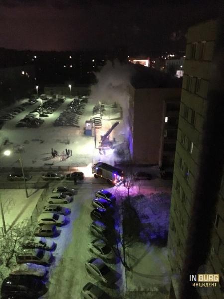 пожар на Сортировке, общежитие(2018)|Фото: vk.com/incekb