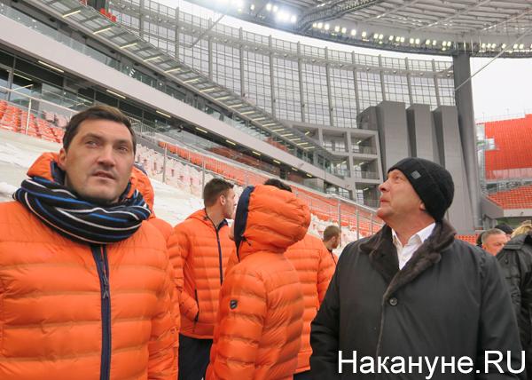 Екатеринбург-Арена (Центральный стадион), ФК Урал, Григорий Иванов(2018)|Фото: Накануне.RU
