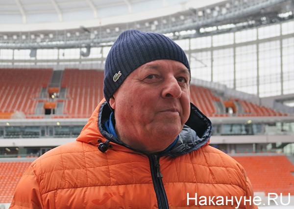 Екатеринбург-Арена (Центральный стадион), ФК Урал, Александр Тарханов(2018)|Фото: Накануне.RU