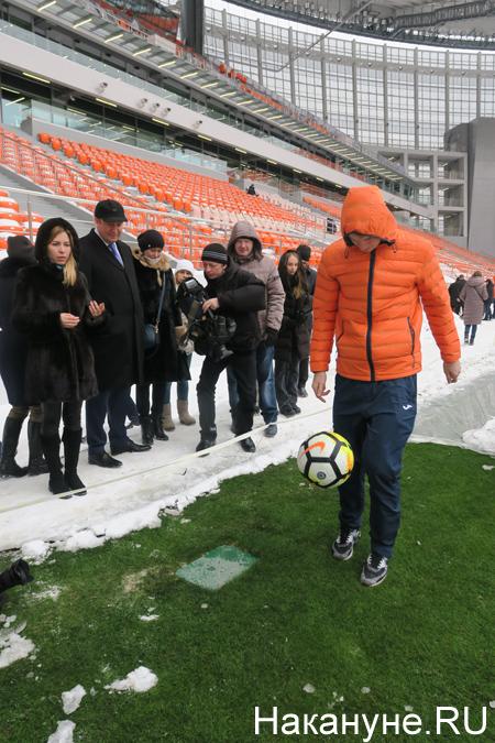 Екатеринбург-Арена (Центральный стадион), ФК Урал, Владимир Ильин(2018)|Фото: Накануне.RU