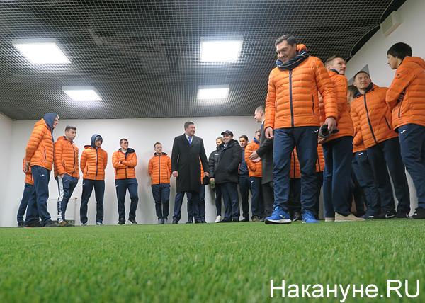 Екатеринбург-Арена (Центральный стадион), ФК Урал, зона для разминки(2018)|Фото: Накануне.RU
