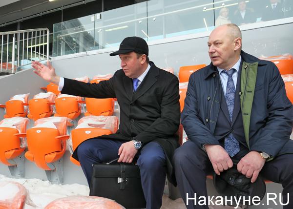 Екатеринбург-Арена (Центральный стадион), Павел Новиков, Тимур Уфимцев(2018)|Фото: Накануне.RU