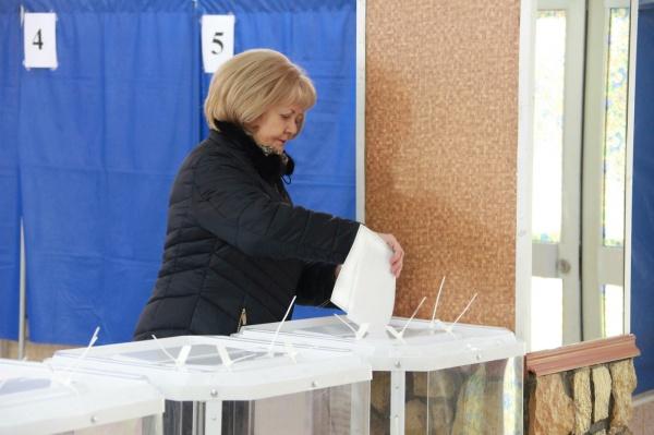 Людмила Бабушкина, выборы президента-2018, голосование(2018)|Фото: пресс-служба Законодательного Собрания Свердловской области