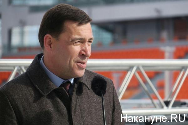 губернатор Свердловской области Евгений Куйвашев(2018)|Фото: Накануне.RU