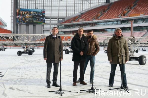 Колин Смит, Алексей Сорокин, Евгений Куйвашев(2018)|Фото: Накануне.RU