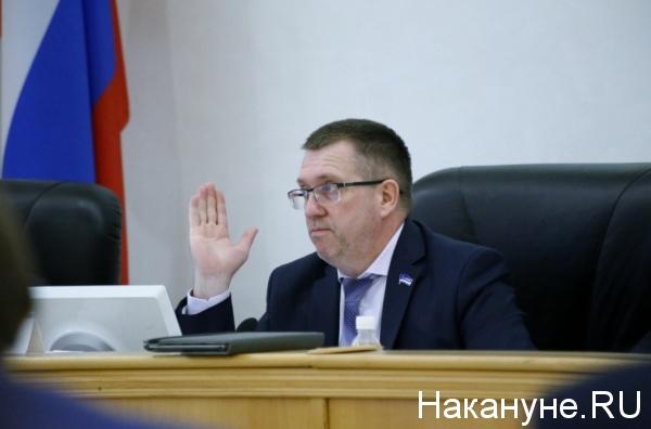 Юрий Баранчук, председатель комиссии Тюменской городской думы по ЖКХ(2018)|Фото: Накануне.RU