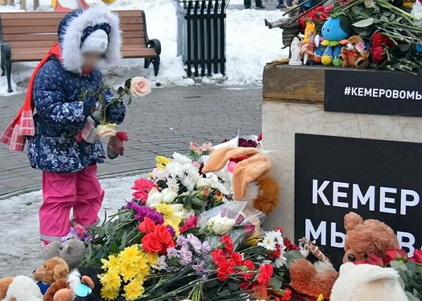 акция памяти погибшим на пожаре в Кемерово, Тюмень(2018)|Фото: duma72.ru