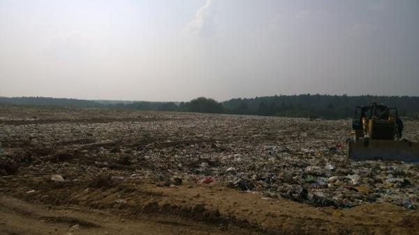 Ядрово, Волоколамск, полигон ТБО, свалка, мусор(2018)|Фото: www.change.org