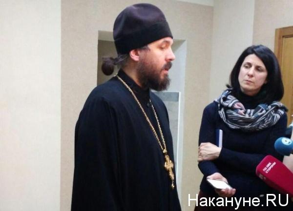 священник  Евгений Попиченко(2018)|Фото: Накануне.RU