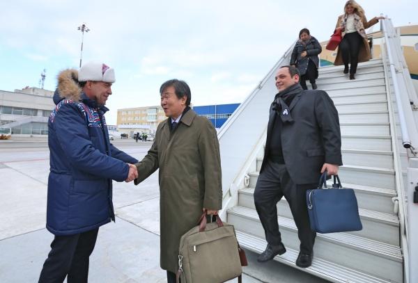 Евгений Куйвашев, встреча делегации МБВ(2018)|Фото: ДИП губернатора Свердловской области