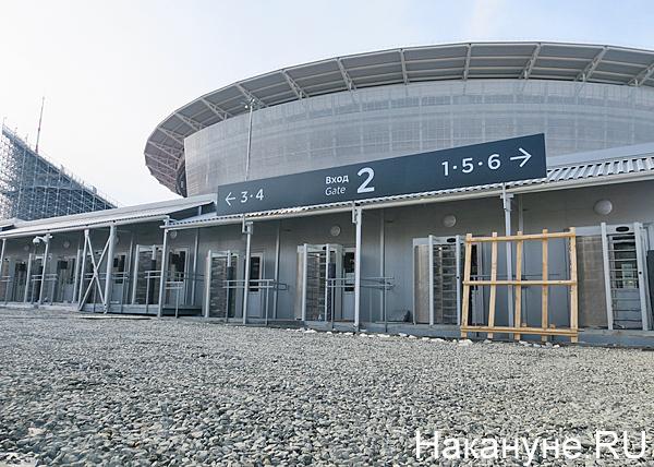 Екатеринбург-арена, стадион(2018)|Фото: Накануне.RU