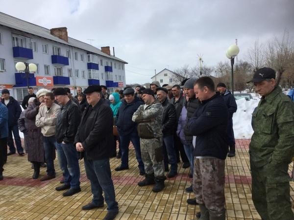 митинг молочников, Абатское, молочный бунт(2018) Фото: Накануне.RU