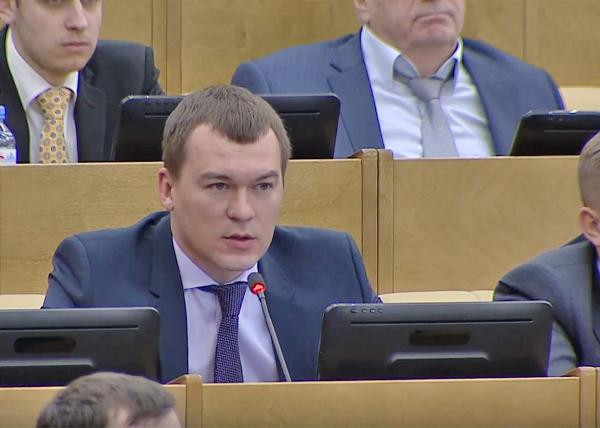 Дегтярев отменил пресс-конференцию в Хабаровске «из-за коронавируса»