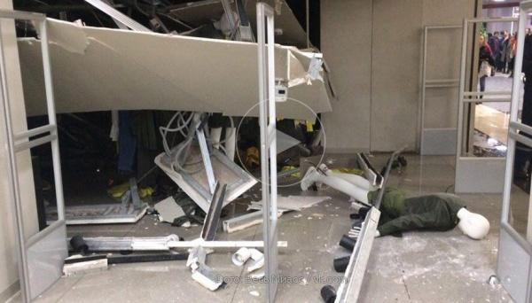 Миасс, торговый центр, обрушение потолка,(2018)|Фото: СК
