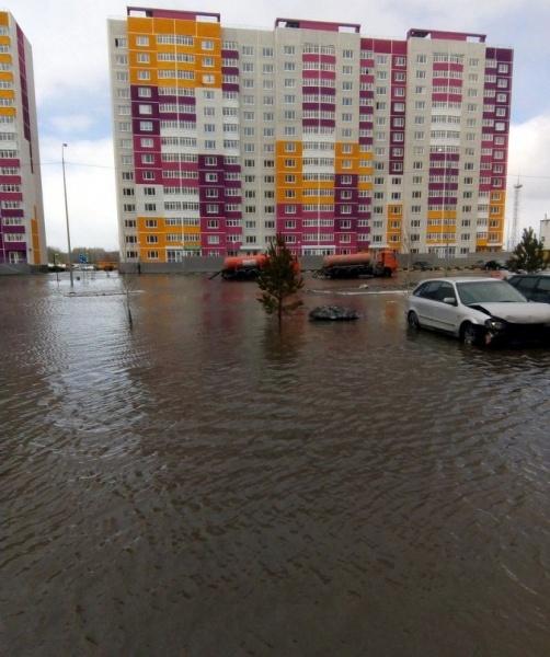 Созидателей Тюмень потоп(2018)|Фото: car72.ru