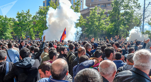Ереван, протест, акция(2018)|Фото: Sputnik / Asatur Yesayants