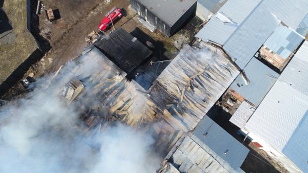 завод, пожар, Нижегородская область(2018) Фото: ГУ МЧС по Нижегородской области