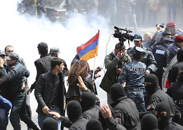 Армения, протест(2018)|Фото: REUTERS