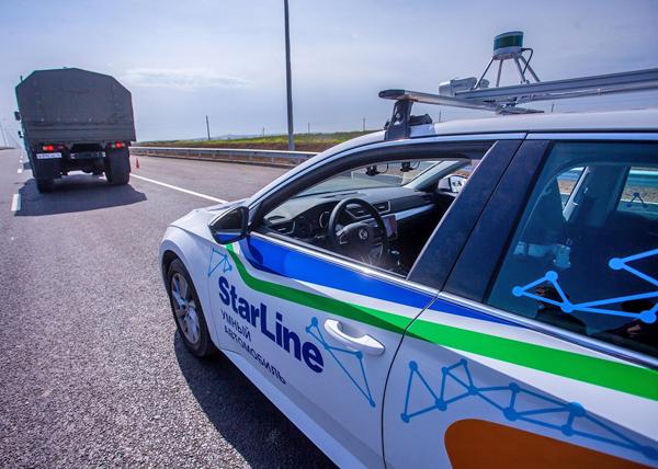 беспилотные автомобили, тесты, крымский мост, Skoda(2018)|Фото: Министерство транспорта РФ