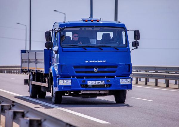 беспилотные автомобили, тесты, крымский мост, КамАЗ(2018)|Фото: Министерство транспорта РФ