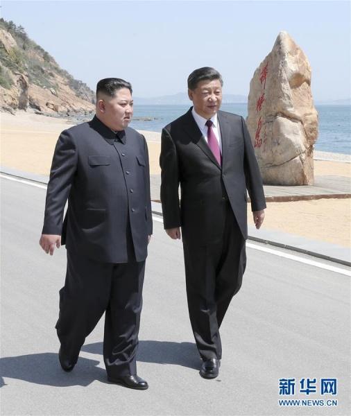 Ким Чен Ын и Си Цзиньпин встретились в Даляне(2018) Фото: www.xinhuanet.com