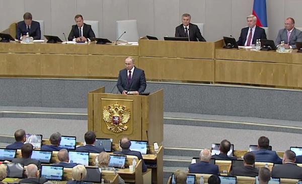 заседание в Госдуме(2018) Фото: duma.gov.ru