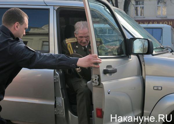 9 мая, День Победы, Екатеринбург, ветераны, привоз ветеранов(2018)|Фото: Накануне.RU