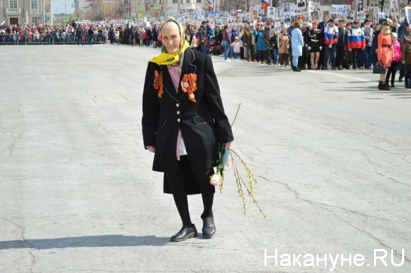 Парад Победы, Курган, 9 Мая(2018)|Фото:Накануне.RU