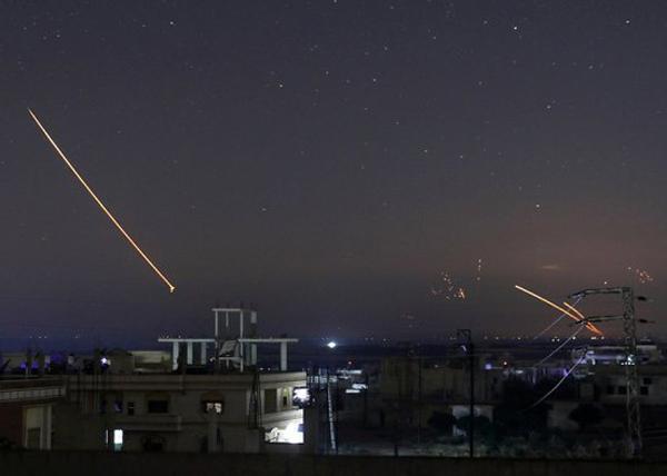 Израиль, Сирия, ракеты(2018)|Фото: Reuters/Alaa al-Faqir