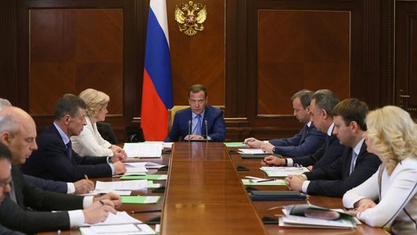 Медведев, совещание, правительство(2018)|Фото: government.ru