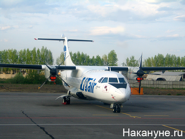 самолет ан-24 авиакомпания ютэйр utair(2007)|Фото: Накануне.ru