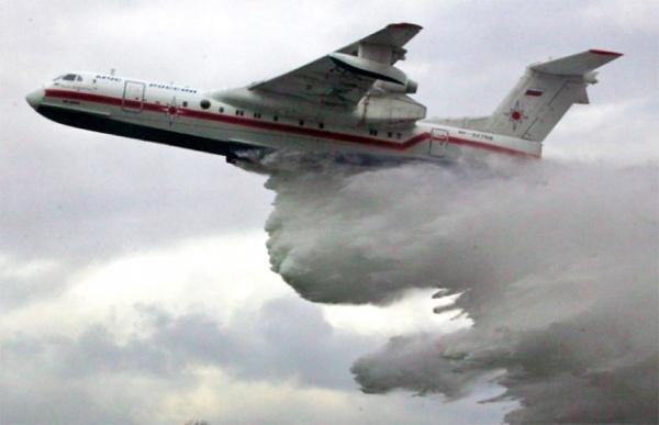 самолет Бе-200 МЧС России(2018)|Фото: ГУ МЧС России по Свердловской области