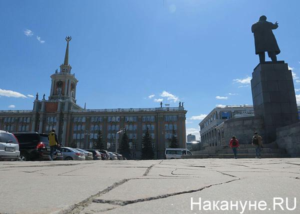 Александр Якоб, осмотр улиц, площадь 1905 года, памятник Ленину, администрация(2018) Фото: Накануне.RU