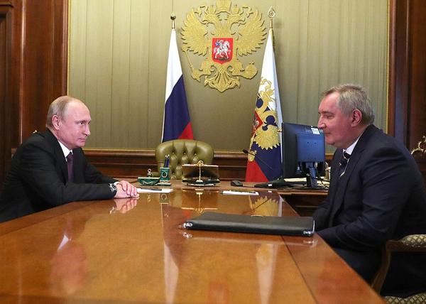 Владимир Путин, Дмитрий Рогозин(2018)|Фото: kremlin.ru