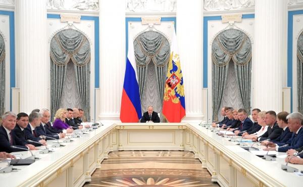 кабмин, состав, совещание, Владимир Путин, Кремль(2018)|Фото:kremlin.ru